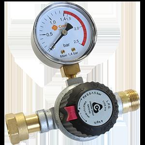Détendeur-manomètre-compteur gaz