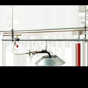 Composants pour rampe relevable
